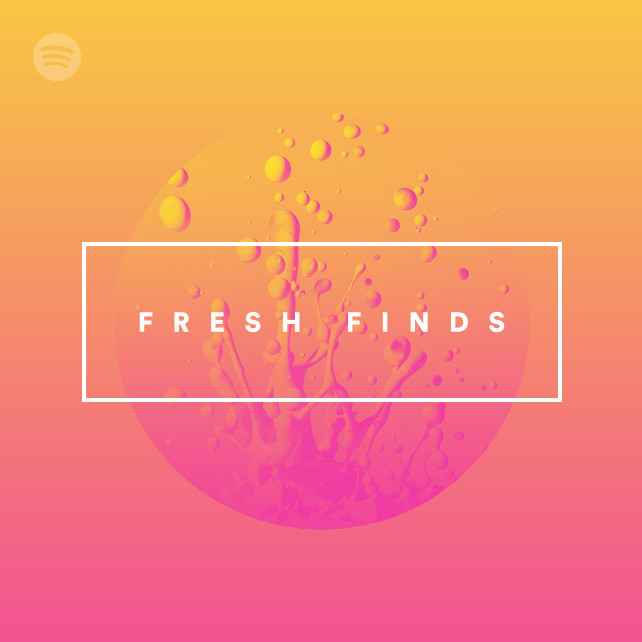 bed on spotify fresh finds public display pr